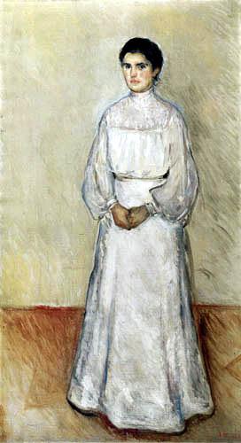 Edvard Munch - Portrait of Ellen Warburg