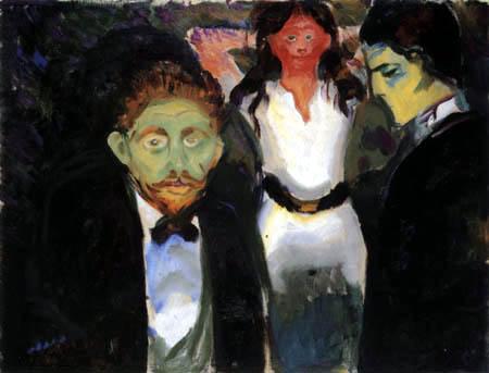 Edvard Munch - Jealousy