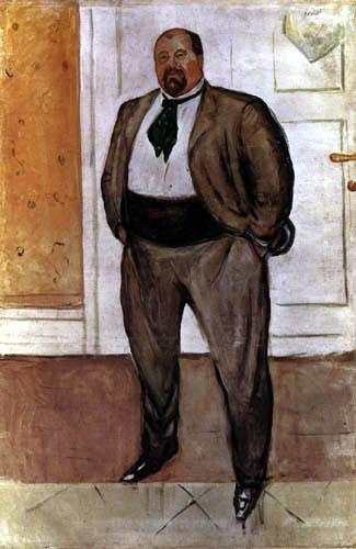 Edvard Munch - Christen Sandberg