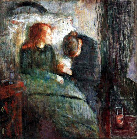 Edvard Munch - The Sick Child