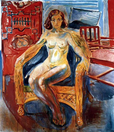 Edvard Munch - The Girl from the North Country