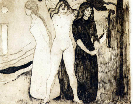 Edvard Munch - The woman