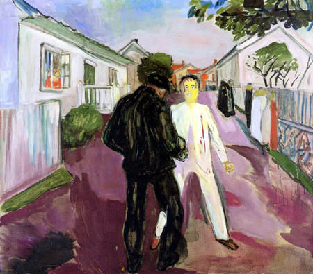 Edvard Munch - The fight