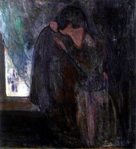 Edvard Munch - Le baiser