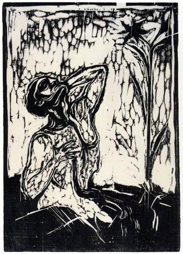 Edvard Munch - The Flower of Pain