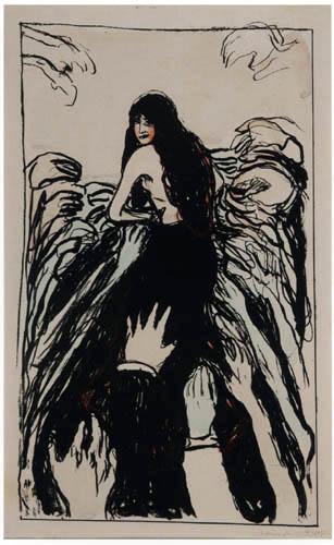 Edvard Munch - The Hands