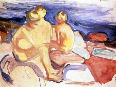 Edvard Munch - Three Boys at the Sea