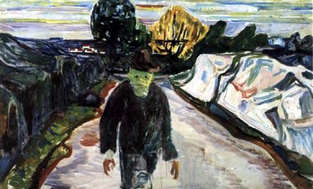 Edvard Munch - The Murderer