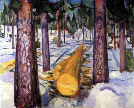 Edvard Munch - La tige jaune