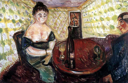 Edvard Munch - Scène de bordel
