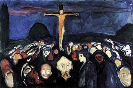Edvard Munch - Golgota