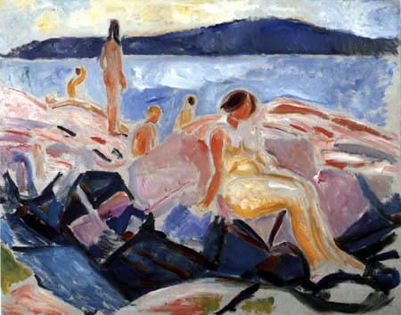 Edvard Munch - Midsummer II