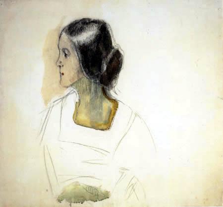 Edvard Munch - Dans le profil