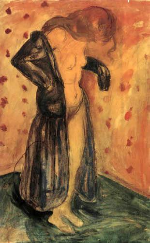 Edvard Munch - En bata de casa