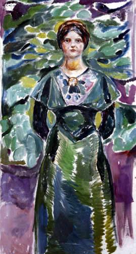 Edvard Munch - Ingeborg Hvitsten