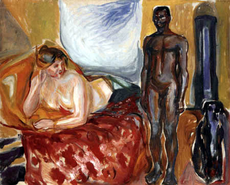 Edvard Munch - Cleopatra and the slave