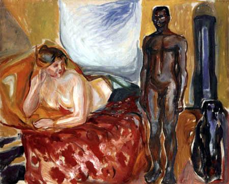Edvard Munch - Cléopâtre et l'esclave