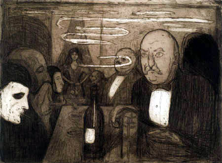 Edvard Munch - Kristiania--Boheme II