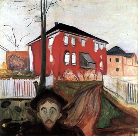 Edvard Munch - The red creeper