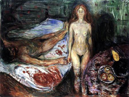 Edvard Munch - The Death of Marat