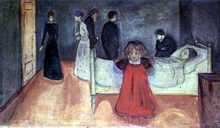 Edvard Munch - The Dead Mother and her Daughter