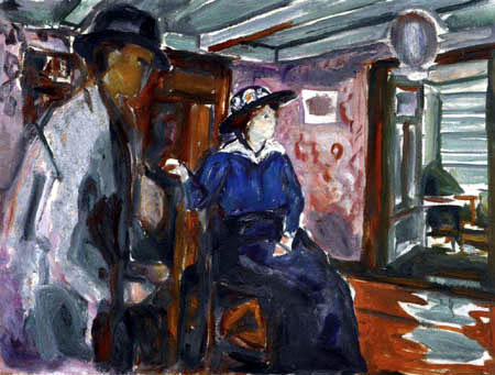 Edvard Munch - L'homme et la femme I