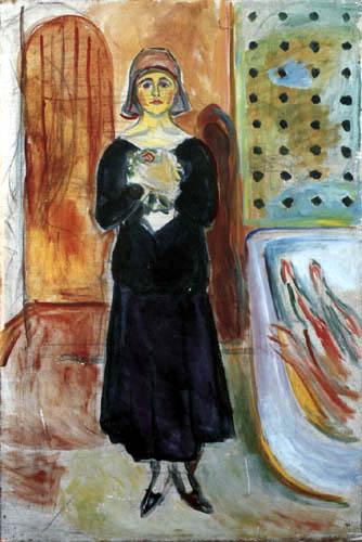 Edvard Munch - Marat et Charlotte Corday II