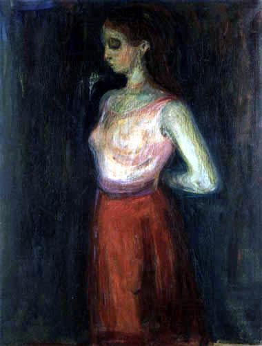 Edvard Munch - Model Study