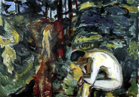 Edvard Munch - After the Fall