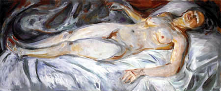 Edvard Munch - Night II