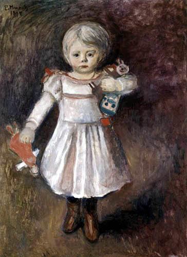 Edvard Munch - Nora Mengelberg