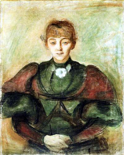 Edvard Munch - Portrait Ragnhild Bäckström