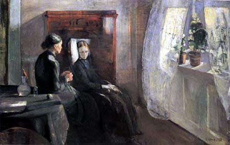 Edvard Munch - Spring Day