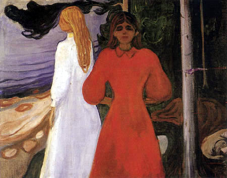 Edvard Munch - Red and White