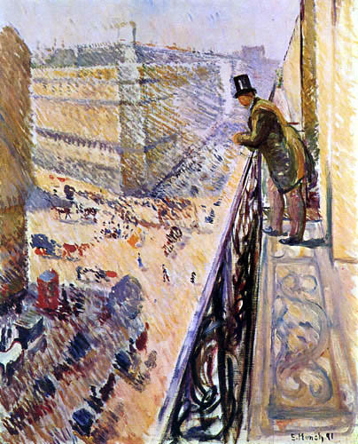 Edvard Munch - Rue Lafayette