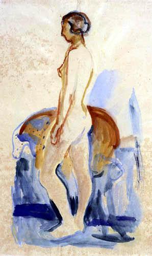 Edvard Munch - Nude III