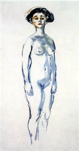 Edvard Munch - Blue nude