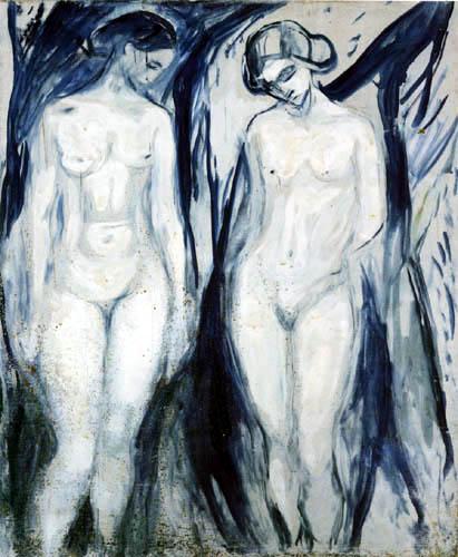 Edvard Munch - Study on the human mountain I