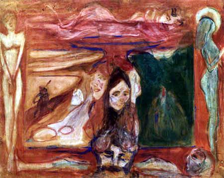 Edvard Munch - Étude symbolique