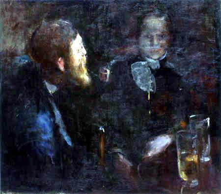 Edvard Munch - Tête à tête, Togetherness