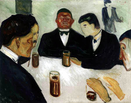 Edvard Munch - Drinking Circle