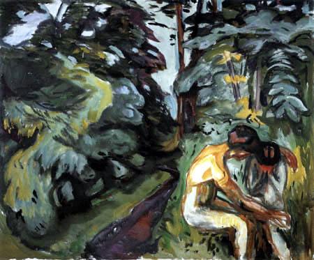 Edvard Munch - Consolation dans la forêt