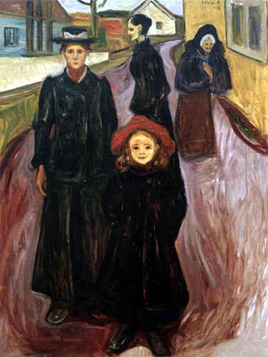 Edvard Munch - The four ages