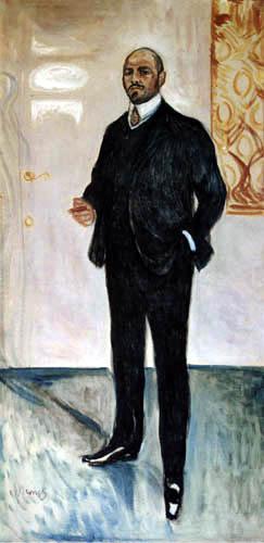 Edvard Munch - Walther Rathenau