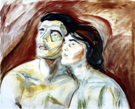 Edvard Munch - Cheek to Cheek