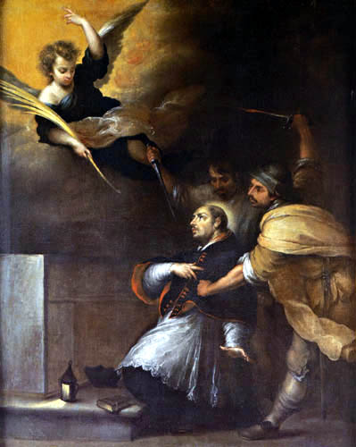 Bartolomé Esteban Murillo (Pérez) - The Martyrdom of Saint Peter of Arbues