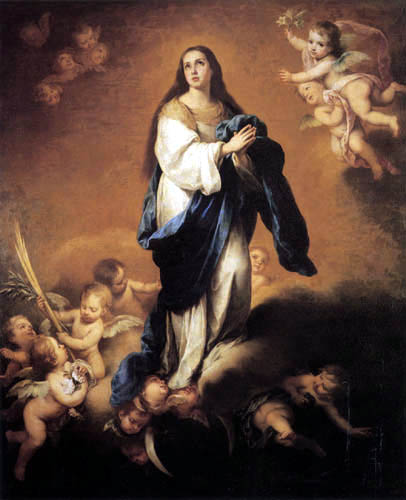Bartolomé Esteban Murillo (Pérez) - Immaculate Conception