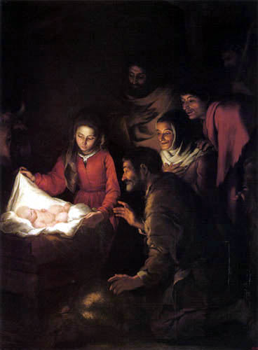 Bartolomé Esteban Murillo (Pérez) - Adoration of the Shepherds