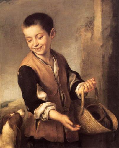 Bartolomé Esteban Murillo (Pérez) - Boy with the dog