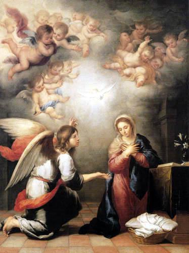 Bartolomé Esteban Murillo (Pérez) - Annunciation